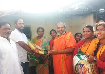 Helping to poor family