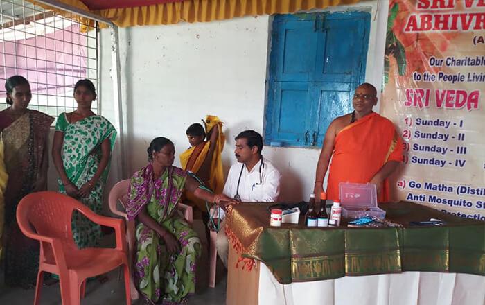 Medical camps we provide basic treatment