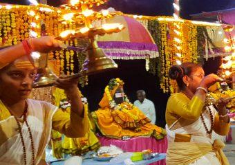 India's 1st Dakhina Ganga(Godawari) Veda Nitya Harathi we are started